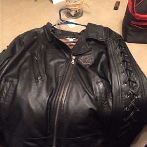 Woman's Harley Davidson leather jacket